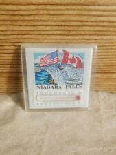 Niagara Falls Canada Refrigerator Magnet with Thermometer