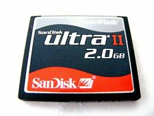 ,, 2gb Compact Flash mapa Ultra II (2 gb CF card Ultra II) SanDisk usado,