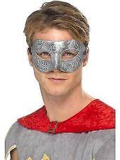 Metallic Warrior Colombina Eyemask Silver AC