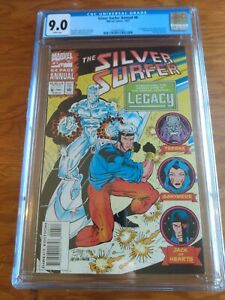 Silver Surfer Annual 6  CGC 9.0   First Appearance Legacy