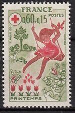 FRANCE TIMBRE NEUF  N° 1860 **  CROIX ROUGE LES SAISONS LE PRINTEMPS