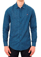 Napapijri GARB FANTASY LS Shirt, Azul, XXL