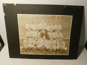 1907 Grover Lowdermilk Decatur Commodores Minor League Baseball Team Photo