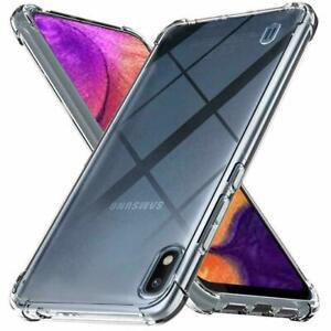 Samsung Galaxy A10 A20e A40 A50 A12 A32 A42 Case Cover Shockproof Silicon Gel