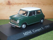 Mini Cooper S 1967 In Green 1/43rd Scale
