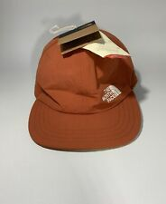 Nwt The North Face Reversible Fleece Norm Hat-Picante Red/British Khaki-Msrp $42