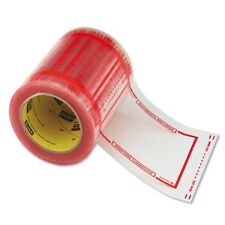 "Scotch 3M Pouch Tape 5"" x 6"" Transparent w/Orange Border FREE SHIPPING"