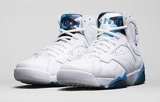2015 Nike Air Jordan VII 7 Retro Size 11.5 French Blue White Flint Gr 304775 107