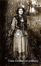 Native American Seneca Woman Ah-Weh-Eyu - 1908 - Historic Photo Print