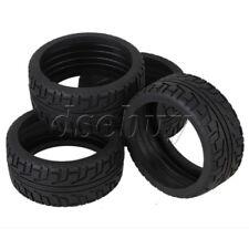 40mm Width Black Sponge Inset RC1:8 Off Road Car Rubber High Grip Tyre Set of 4