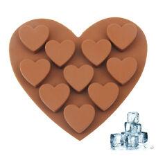 Eiswürfelform in Herzform Eiswürfelschale für wunderschöne Herz Eiswürfel