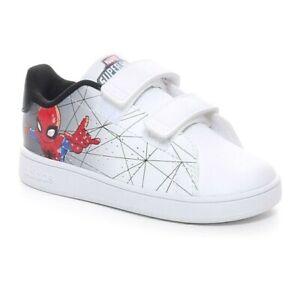 Scarpe Infant Adidas Advantage Bambino Sneaker Sportiva Spiderman a Strappo