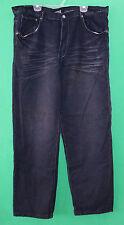 Men's Indigo 30 Black Jeans W 44 L 34 Preowned  FREE SHIPPING!