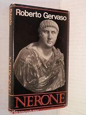 NERONE Roberto Gervaso CDE 1980 libro storia antica saggistica cronache vita di