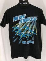rare vintage black Blue Angels Blue extreme Jets medium t shirt US Navy