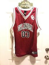 NWT Oklahoma Sooners Basketball Jersey #03 Starter AWESOME! XL