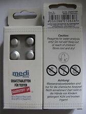 mediPOOL Medi Pool Tabletten Ersatztabletten für Sauerstoff/pH-Tester 2306601M