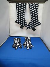 Vintage Glove and Go Go Boot Coverings - Polka Dots