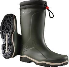 Winterstiefel Dunlop Blizzard grün - schwarz Größe  44 PVC- Stiefel