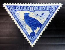 ICELAND 1930 Bird Airmail SG173 Fine/Used NB3442