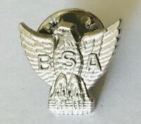 BSA American Eagle Small Lapel Organisation USA Pin Badge Rare Vintage (F9)