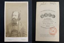 Appert, Paris, Théophile Ferré, communard, fusillé à Satory Vintage albumen prin