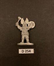 Grenadier Metal 1991 ANDREW CHERNAKS FANTASY PERSONALITIES 1109 DWARF CHAMPION