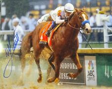 Mike Smith signed  autograph Justify 8x10 Kentucky Derby Triple Crown 2018