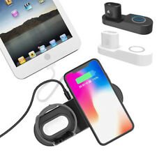 4 In 1 Wireless Charging Dock For Apple Watch iPhone 11 12 XS X Samsung S20 S10+