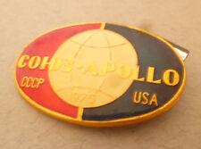 Enamel USSR Soviet 1975 USSR/USA Space Badge