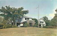 Postcard Harrison Park Club House, Danville, IL Posted 1969