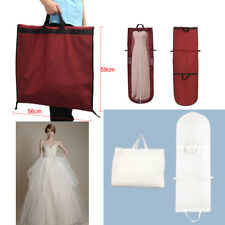 Long Dress Cover Storage Bag for Bridesmaid Bridal Wedding Gown Dress Carrier UK