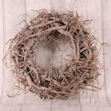 """Large 12""""/30cm White Washed Twig Wreath"""