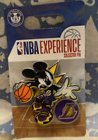 WDW NBA Experience Mickey Mouse Los Angeles **LAKERS**Trading Pin