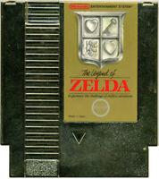 Legend of Zelda Gold - Nintendo NES Game Authentic