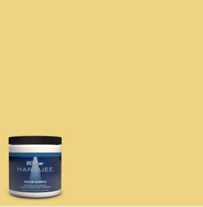 Feather Gold Satin B3704 Medium Bass Interior/Exterior Paint Color Sample 8 oz