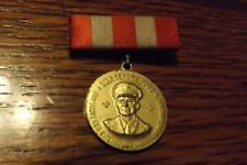 Boy Scout Pin 1945 WAR SERVICE EISENHOWER WASTE PAPER CAMPAIGN