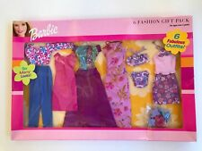 Barbie 6 Fashion Gift Pack 6 Fabulous Outfits! 2001 Sealed New