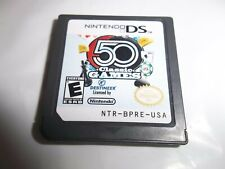 NINTENDO DS 50 CLASSIC GAMES VIDEO GAME CARTRIDGE ONLY II