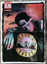 AXL ROSE / GUNS N ROSES - 1995 UK Magazinel centrefold poster