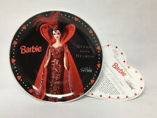 "Barbie Queen Of Hearts Collector's Plate 1995 Bob Mackie 2089/7500 8"" Valentine"