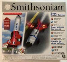 NIB Smithsonian Super Rocket Science Launch & RACE A Rocket Car