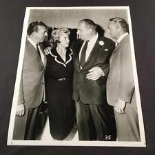 Joan Blondell Robert Morley Jack Cassidy Candid Original Movie Photo A184