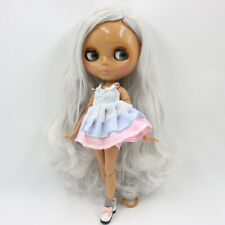 """Takara 12/"""" Neo Blythe White Hair Nude Doll from Factory TBY01"""