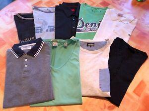 Hemd T'Shirt Größe L 9 Teile Lacoste, Tom Tailor, Scotch & Soda, your turn, Pure