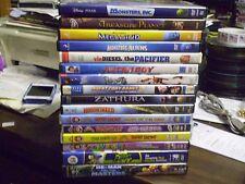 (19) Childrens Adventure DVD Lot: Disney Monsters Inc Megamind Monsters vs Alien