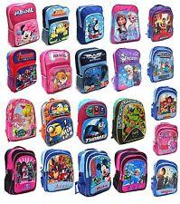 NEW LARGE KIDS BACKPACK BOYS GIRLS SCHOOL BAG CHILDREN CARTOON PAW PATROL FROZEN