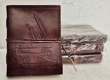 Leather Journal Diary Notebook Blank Travel Notepad Handmade Journal Lot of 4