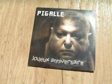 CD SINGLE CARDSLEEVE PIGALLE JOYEUX ANNIVERSAIRE PROMO FRANCOIS HADJI LAZARO