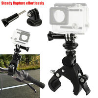 For Gopro Sony Camera Bicycle Bike Motorcycle Handlebar Pole Mount Holder Clamp